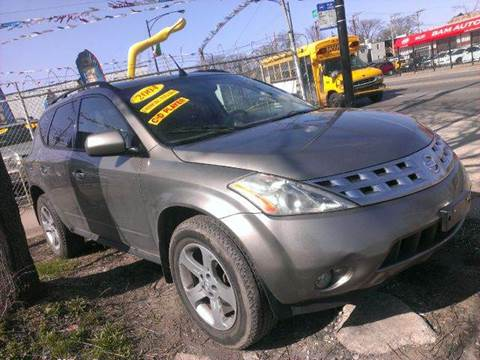 2004 Nissan Murano for sale at WEST END AUTO INC in Chicago IL