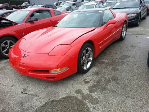1998 Chevrolet Corvette for sale at WEST END AUTO INC in Chicago IL