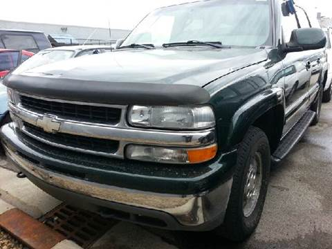2002 Chevrolet Suburban for sale at WEST END AUTO INC in Chicago IL