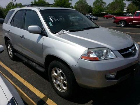 2001 Acura MDX for sale at WEST END AUTO INC in Chicago IL