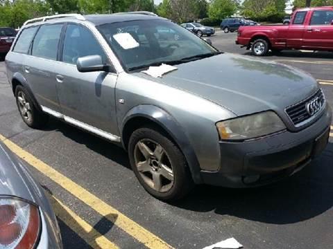 2003 Audi Allroad Quattro for sale at WEST END AUTO INC in Chicago IL