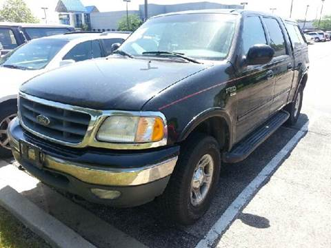 2001 Ford F-150 for sale at WEST END AUTO INC in Chicago IL
