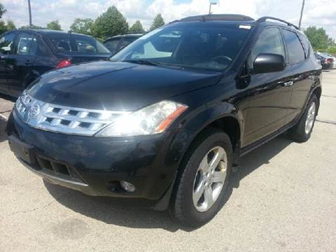 2003 Nissan Murano for sale at WEST END AUTO INC in Chicago IL