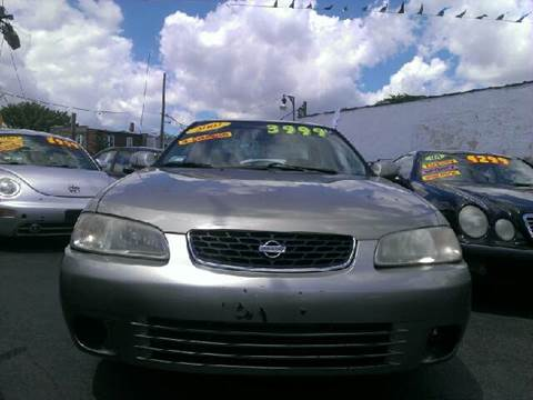 2002 Nissan Sentra for sale at WEST END AUTO INC in Chicago IL