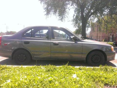 2000 Hyundai Accent for sale at WEST END AUTO INC in Chicago IL