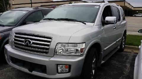 2004 Infiniti QX56 for sale at WEST END AUTO INC in Chicago IL