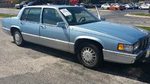 1992 Cadillac DeVille for sale at WEST END AUTO INC in Chicago IL