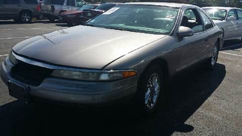 1996 Lincoln Mark VIII for sale at WEST END AUTO INC in Chicago IL