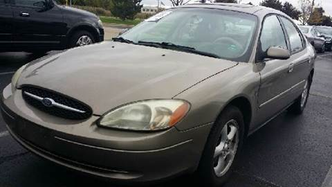 2002 Ford Taurus for sale at WEST END AUTO INC in Chicago IL