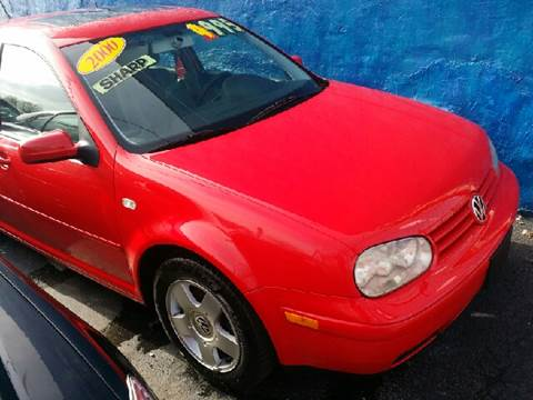2000 Volkswagen Golf for sale at WEST END AUTO INC in Chicago IL