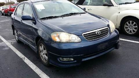 2006 Toyota Corolla for sale at WEST END AUTO INC in Chicago IL
