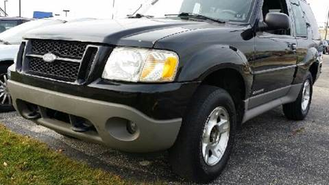 2002 Ford Explorer Sport for sale at WEST END AUTO INC in Chicago IL