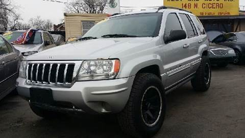 2004 Jeep Grand Cherokee for sale at WEST END AUTO INC in Chicago IL