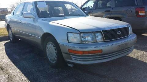 1991 Lexus LS 400 for sale at WEST END AUTO INC in Chicago IL