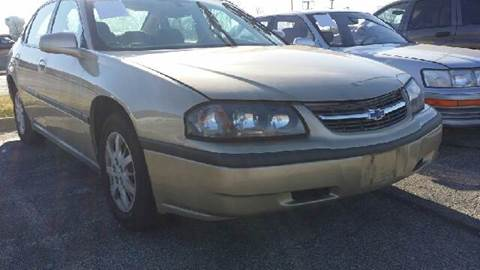 2004 Chevrolet Impala for sale at WEST END AUTO INC in Chicago IL