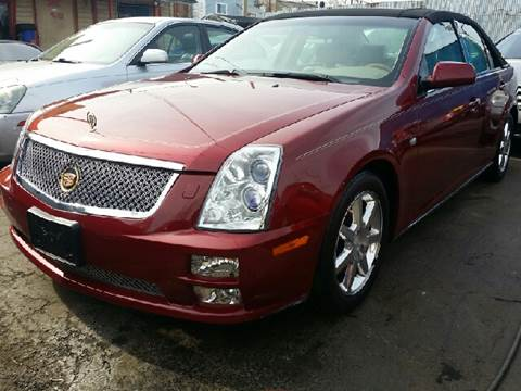 2005 Cadillac STS for sale at WEST END AUTO INC in Chicago IL