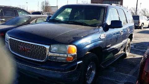 2001 GMC Yukon for sale at WEST END AUTO INC in Chicago IL