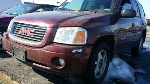2003 GMC Envoy for sale at WEST END AUTO INC in Chicago IL