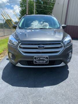 2018 Ford Escape for sale at RHK Motors LLC in West Union OH
