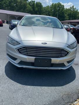 2018 Ford Fusion for sale at RHK Motors LLC in West Union OH