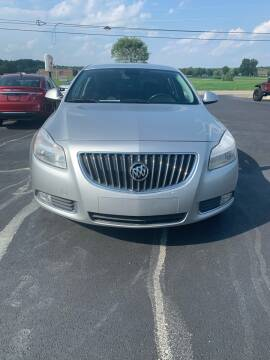 2011 Buick Regal for sale at RHK Motors LLC in West Union OH