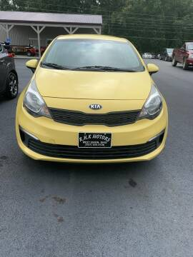2016 Kia Rio for sale at RHK Motors LLC in West Union OH