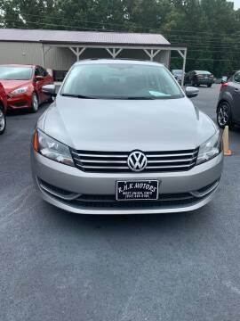 2013 Volkswagen Passat for sale at RHK Motors LLC in West Union OH