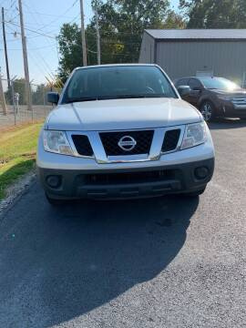 2014 Nissan Frontier for sale at RHK Motors LLC in West Union OH
