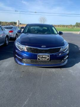 2017 Kia Optima for sale at RHK Motors LLC in West Union OH