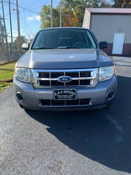 2008 Ford Escape for sale at RHK Motors LLC in West Union OH