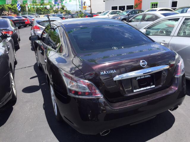 2014 Nissan Maxima 3.5 S 4dr Sedan - Hialeah FL