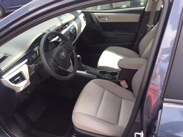 2016 Toyota Corolla LE 4dr Sedan - Hialeah FL