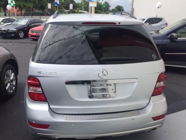 2009 Mercedes-Benz M-Class ML 350 4dr SUV - Hialeah FL