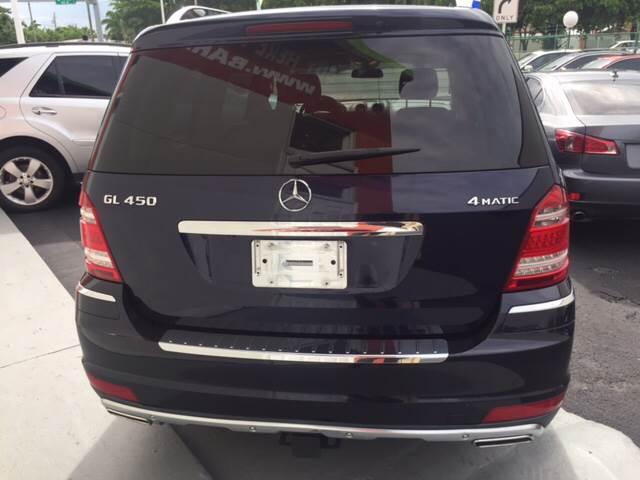2012 Mercedes-Benz GL-Class AWD GL 450 4MATIC 4dr SUV - Hialeah FL