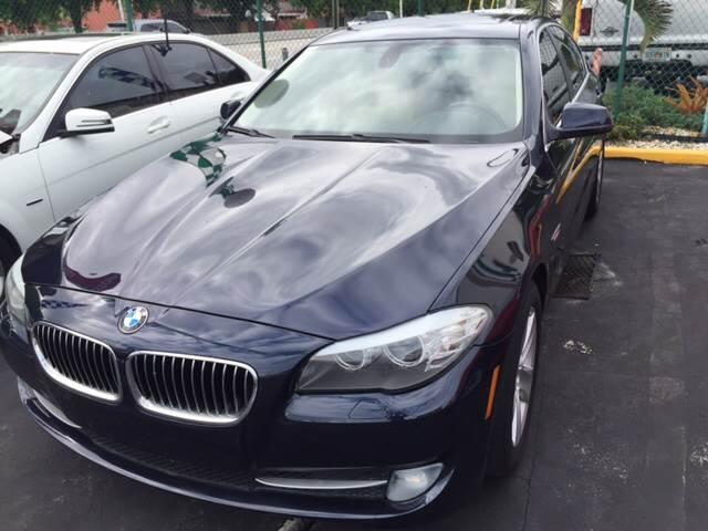2011 BMW 5 Series 528i 4dr Sedan - Hialeah FL