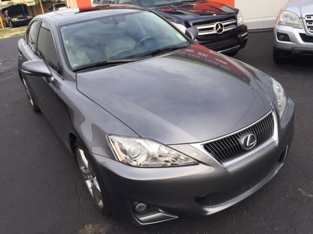 2013 Lexus IS 250 4dr Sedan - Hialeah FL
