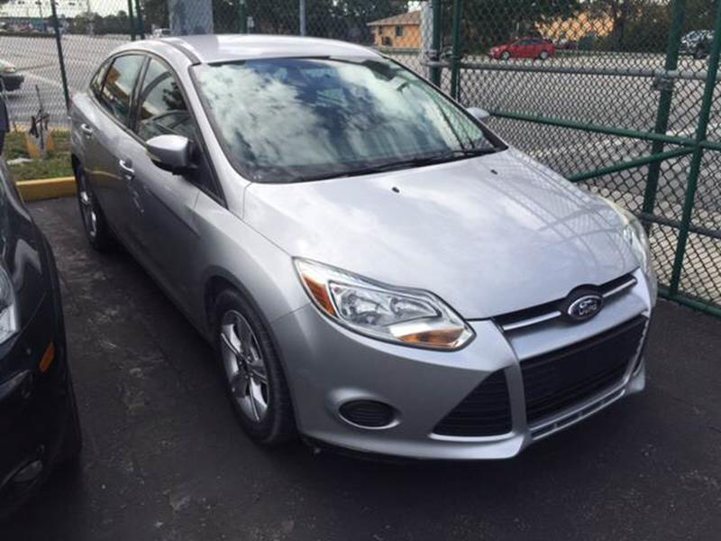 2013 Ford Focus Se 4dr Sedan In Hialeah Fl Barbara
