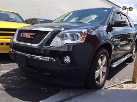 2012 GMC Acadia for sale in Hialeah, FL