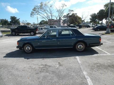 1984 Rolls-Royce Silver Spur for sale in Hollywood, FL