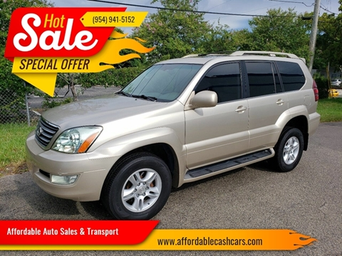 2007 Lexus GX 470 for sale in Pompano Beach, FL