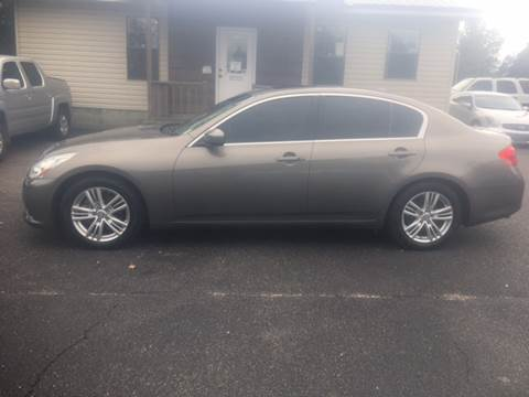 2010 Infiniti G37 Sedan for sale in Hattiesburg, MS