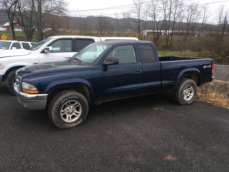 2004 Dodge Dakota Slt In Roaring Spring Pa Smith Family Car Store Inc