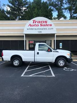 2013 Ford F-250 Super Duty for sale in Greenville, NC