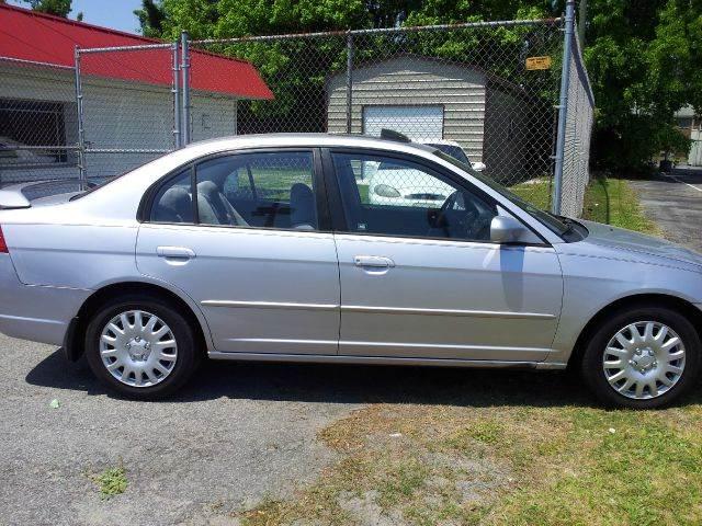 2002 Honda Civic EX Sedan   Greenville NC