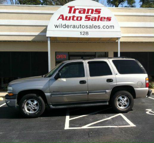 2002 Chevrolet Tahoe LS 2WD 4dr SUV In Greenville NC