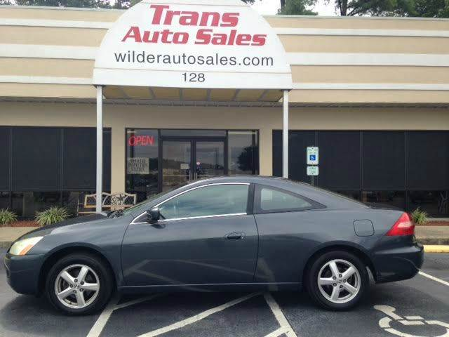 2004 Honda Accord EX 2dr Coupe   Greenville NC