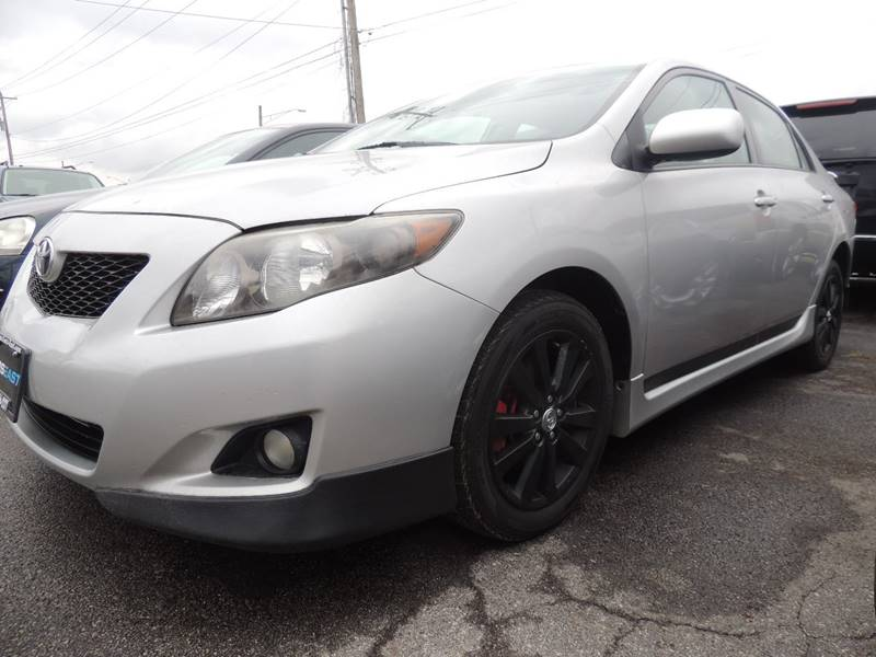 2010 Toyota Corolla S 4dr Sedan 5m In Columbus Oh Cars East