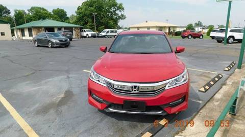 2017 Honda Accord for sale at Bokkers Used Cars, Inc. in Forrest City AR