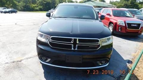 2015 Dodge Durango for sale at Bokkers Used Cars, Inc. in Forrest City AR
