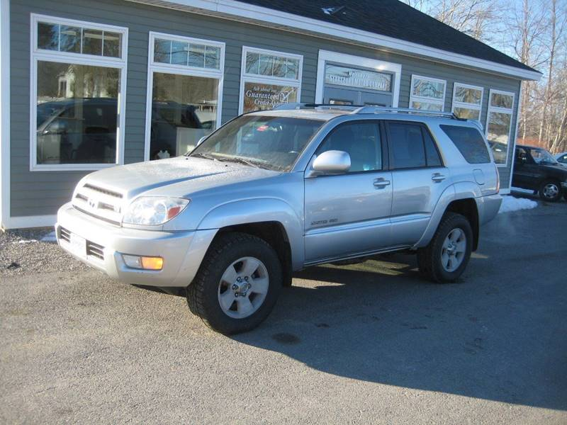 2003 Toyota 4Runner For Sale At Searsport Motor Company In Searsport ME